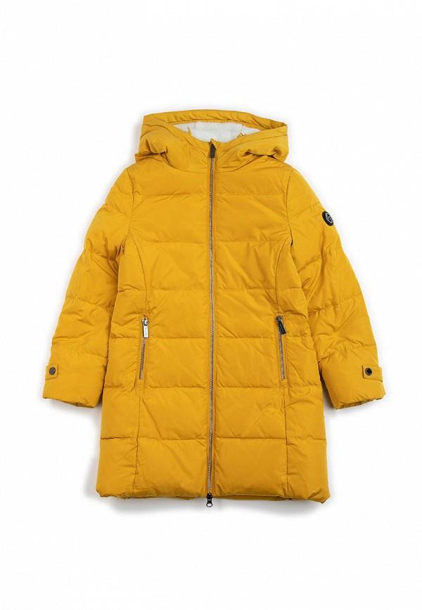 куртка finn flare для девочки, желтая