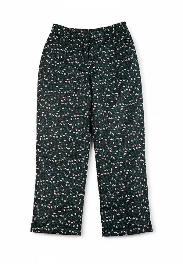 утепленные брюки finn flare для девочки, черные