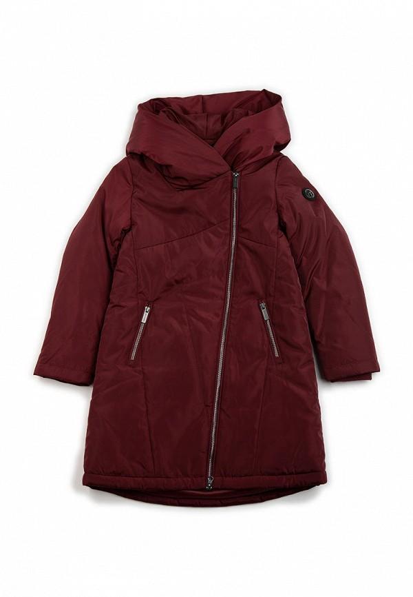 куртка finn flare для девочки, бордовая