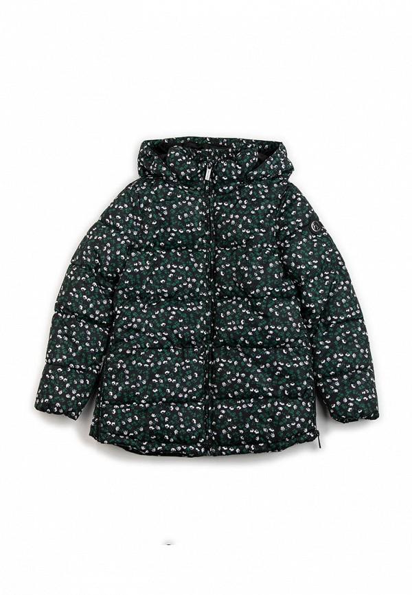 куртка finn flare для девочки, черная
