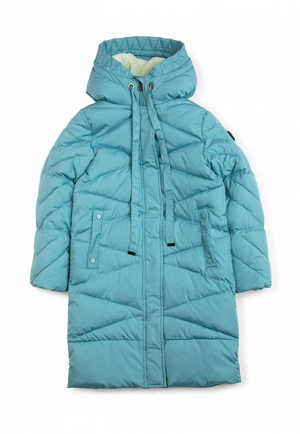 куртка finn flare для девочки, голубая