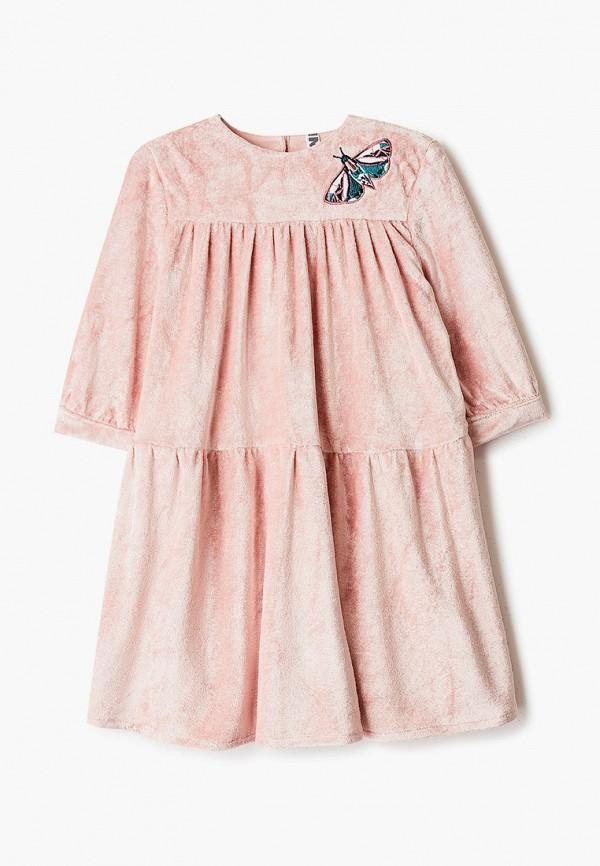 платье infunt для девочки, розовое