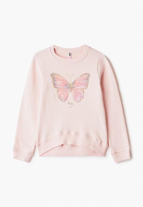 свитшот infunt для девочки, розовый