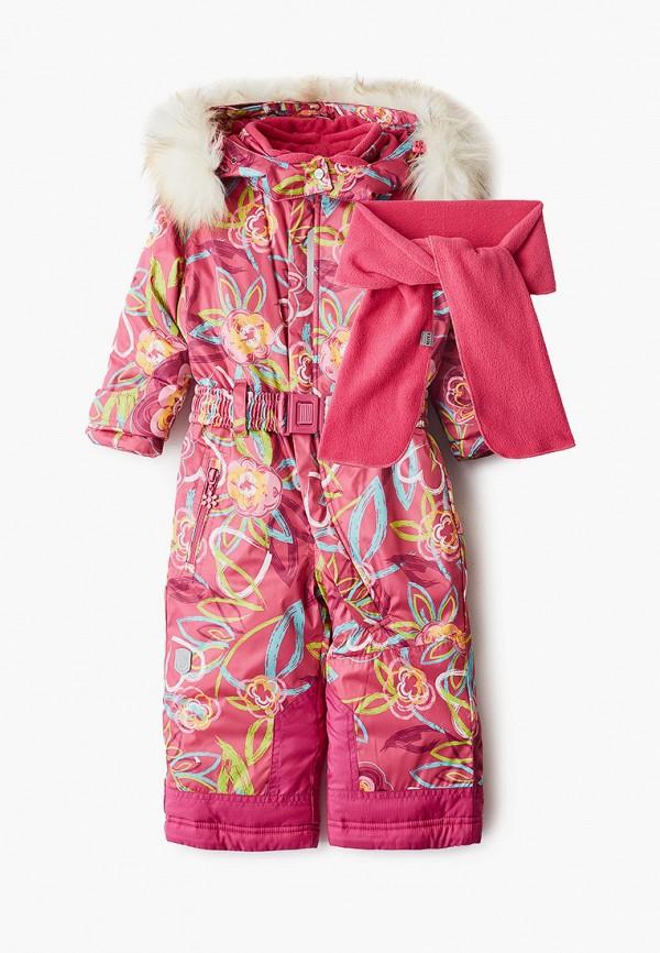 комбинезон alpex для девочки, разноцветный