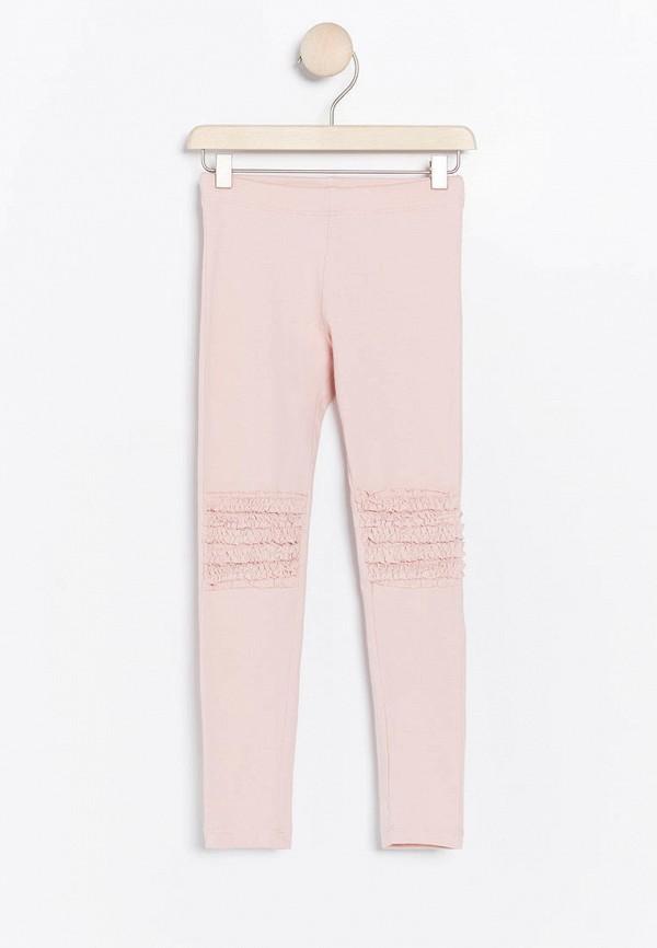леггинсы lindex для девочки, розовые