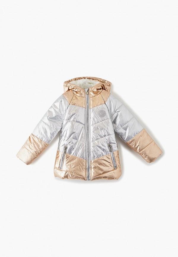 куртка trenders для девочки, серебряная