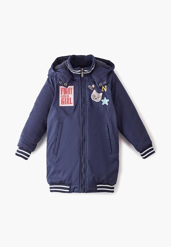 куртка trenders для девочки, синяя