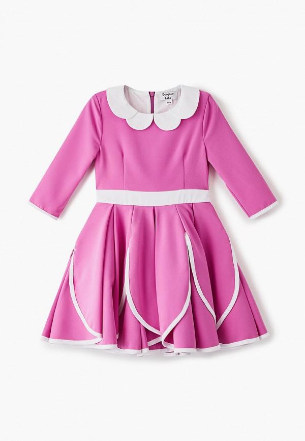 Платье Bonjour Bebe Bonjour Bebe MP002XG00PJH обувь на высокой платформе bebe