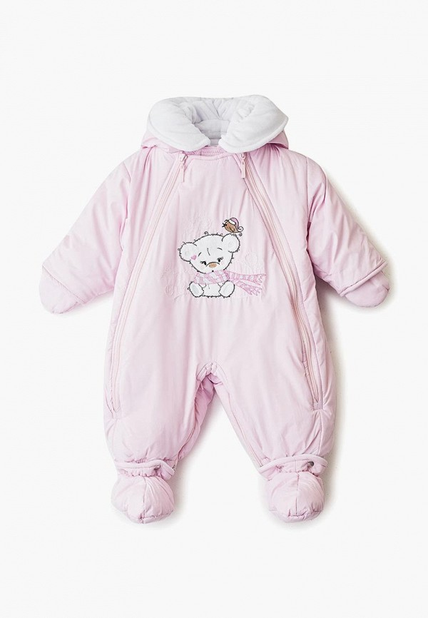 комбинезон stylish amadeo для девочки, розовый