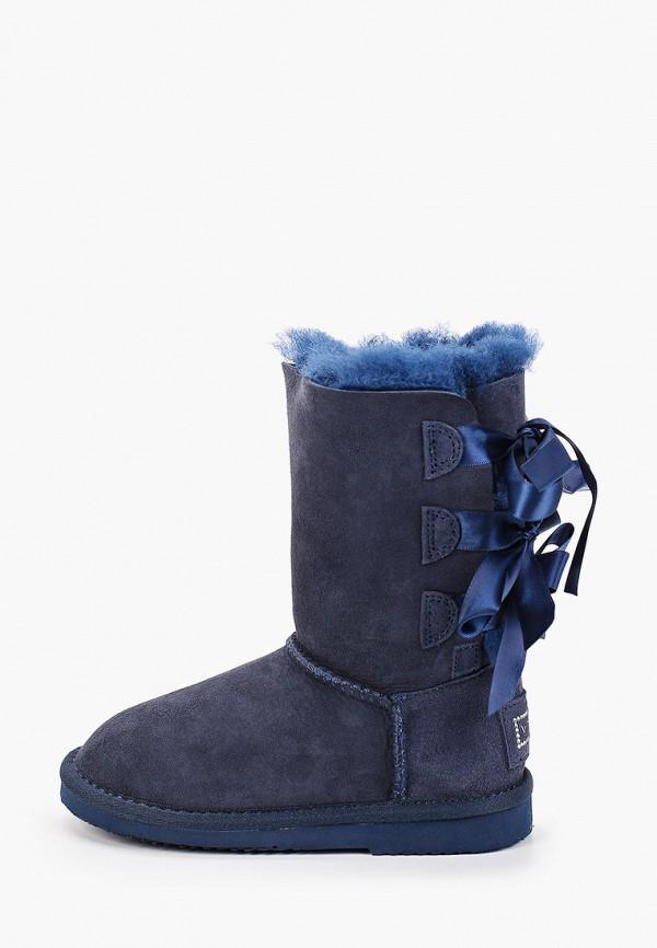 полусапожки vitacci для девочки, синие