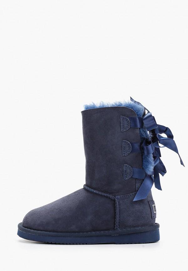 угги vitacci для девочки, синие