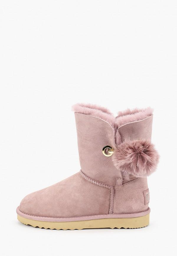 сапоги vitacci для девочки, розовые