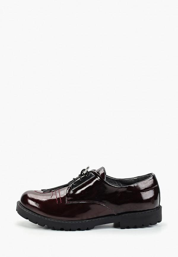 ботинки vitacci для девочки, бордовые
