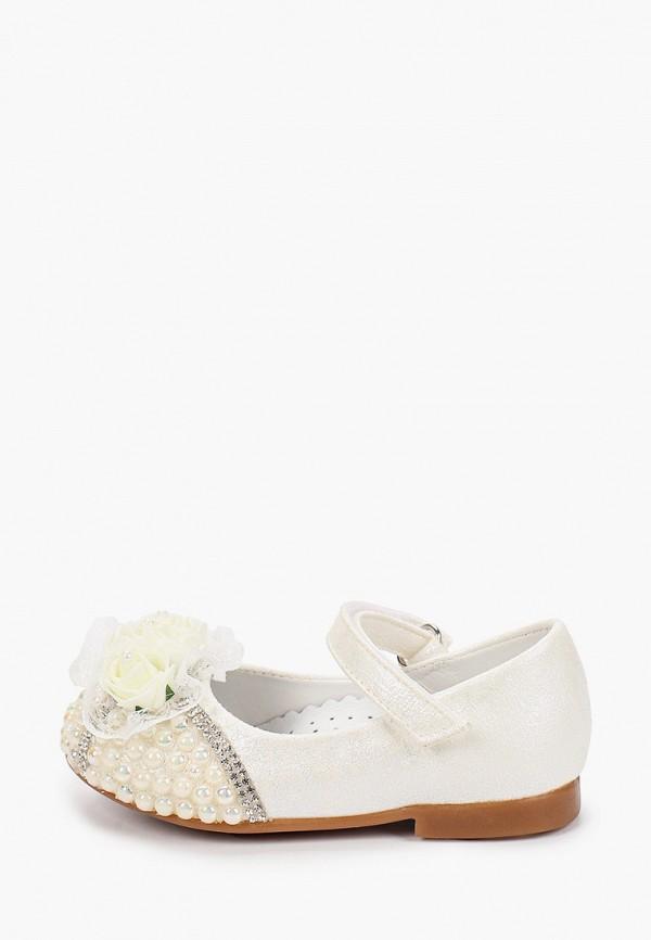туфли vitacci для девочки, белые