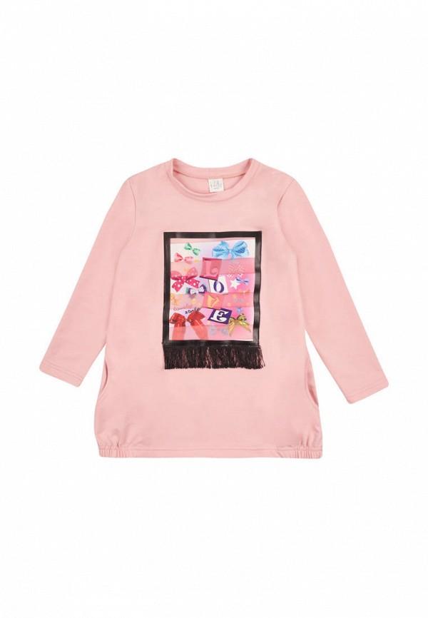 туника одягайко для девочки, розовая