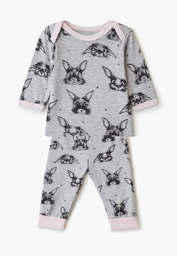 Комплект Веселый малыш Веселый малыш MP002XG00PYL комплект для мальчика веселый малыш тучки кофточка брюки цвет серый 22136 142 ту серый размер 74
