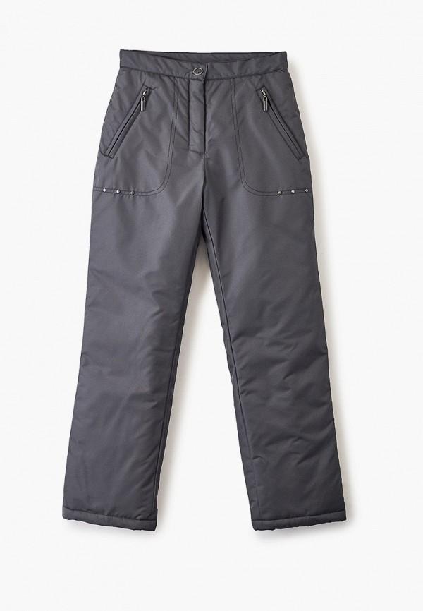 утепленные брюки saima для девочки, серые