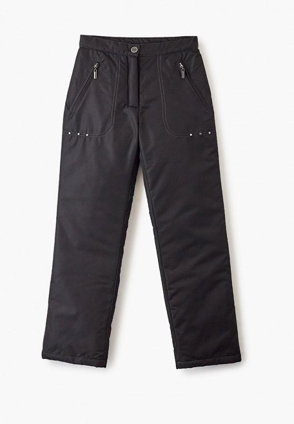 утепленные брюки saima для девочки, черные