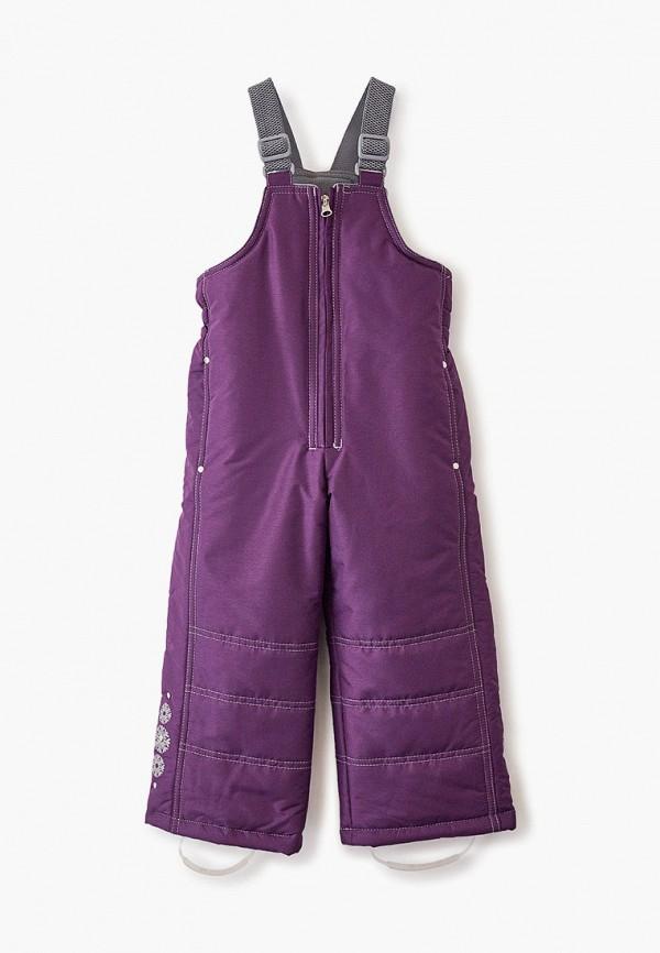 утепленные брюки saima для девочки, фиолетовые