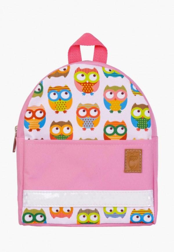 рюкзак zo-zoo для девочки, розовый