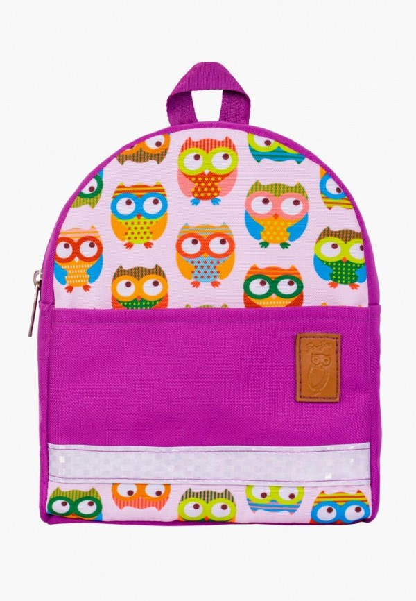 рюкзак zo-zoo для девочки, фиолетовый