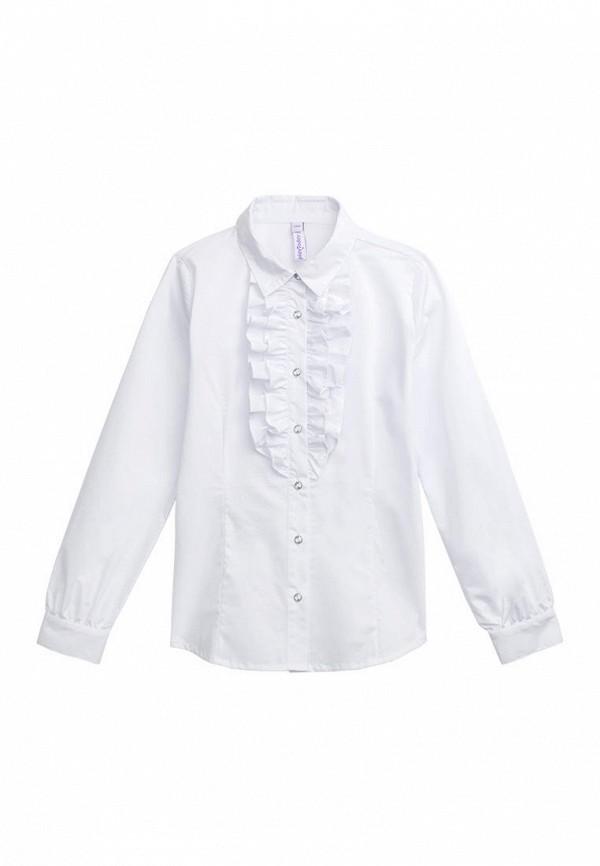 рубашка playtoday для девочки, белая