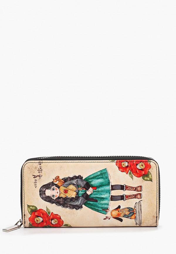 кошелёк vitacci для девочки, бежевый