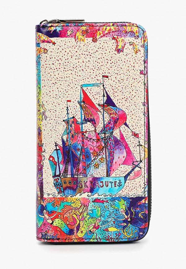 кошелёк vitacci для девочки, разноцветный