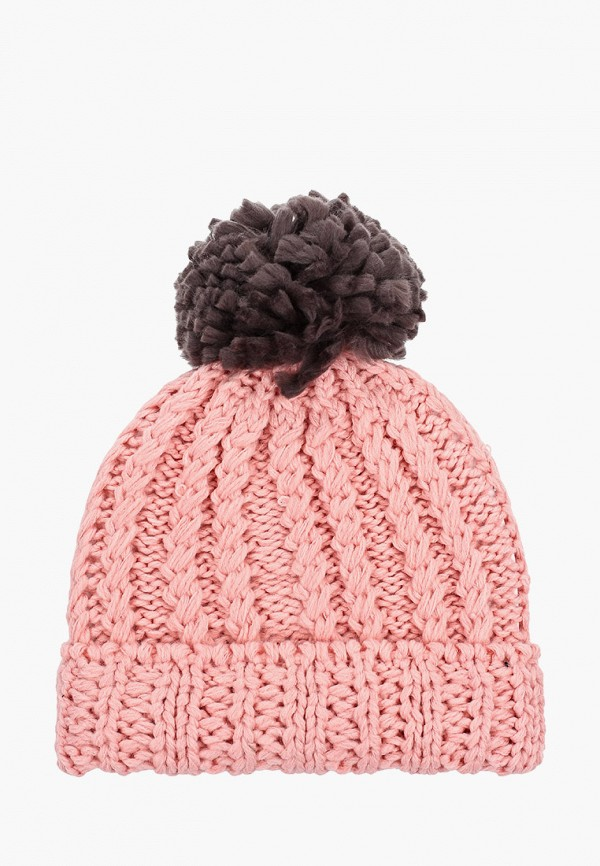 шапка vitacci для девочки, розовая