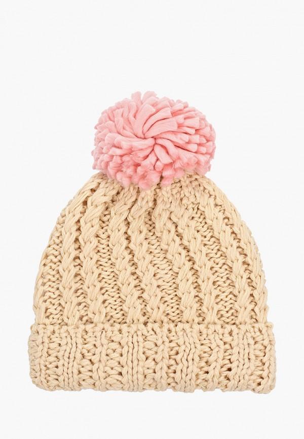 шапка vitacci для девочки, бежевая