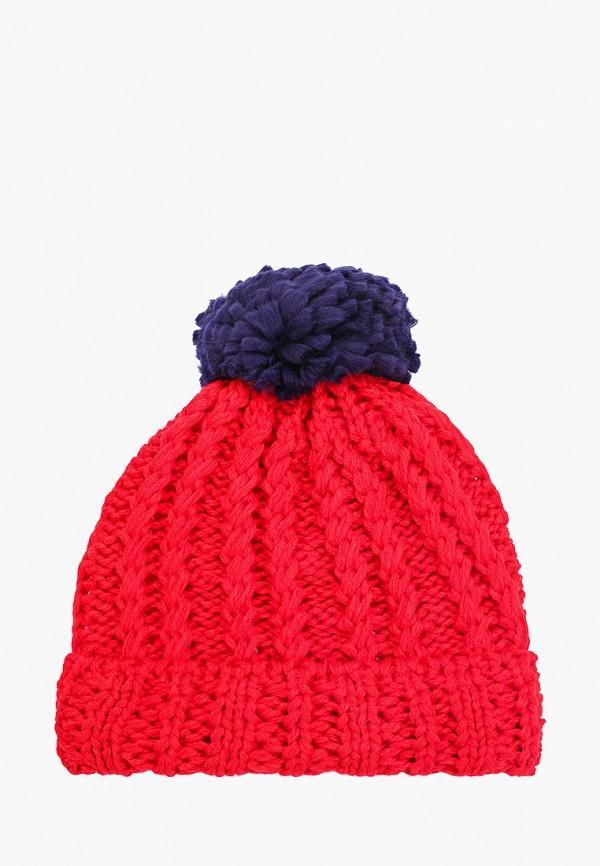 шапка vitacci для девочки, красная