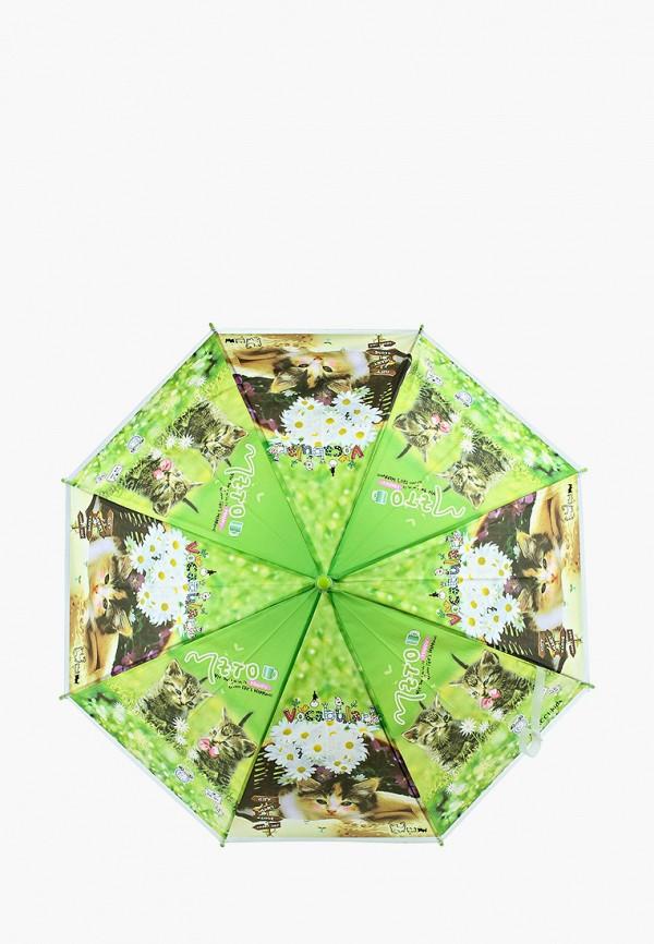 зонт-трости vitacci для девочки, зеленый
