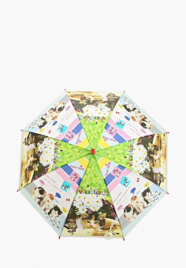 зонт-трости vitacci для девочки, разноцветный