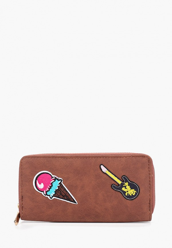 кошелёк vitacci для девочки, коричневый