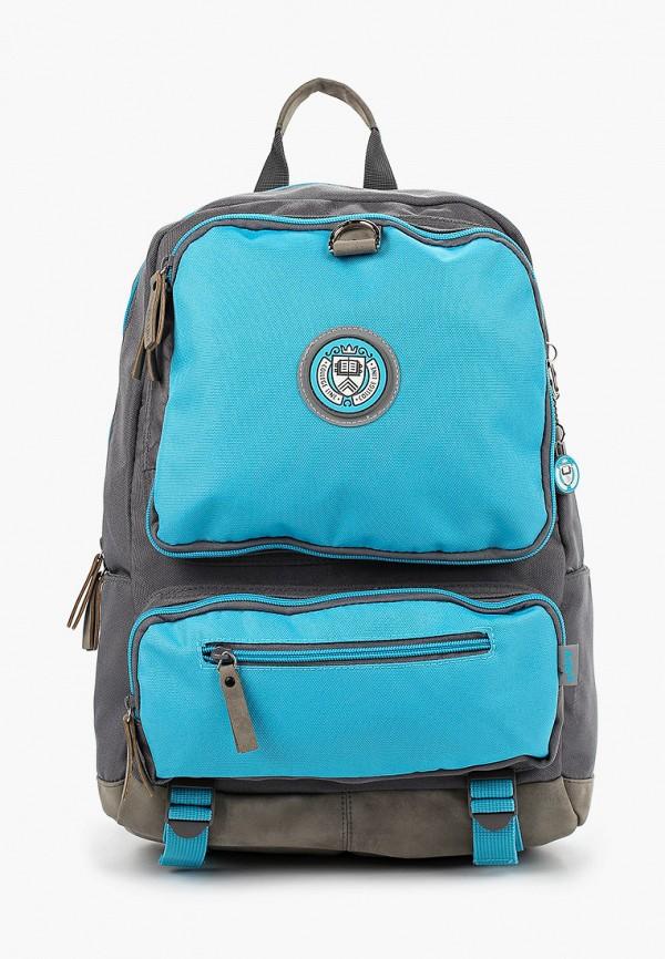 рюкзак kite для девочки, голубой