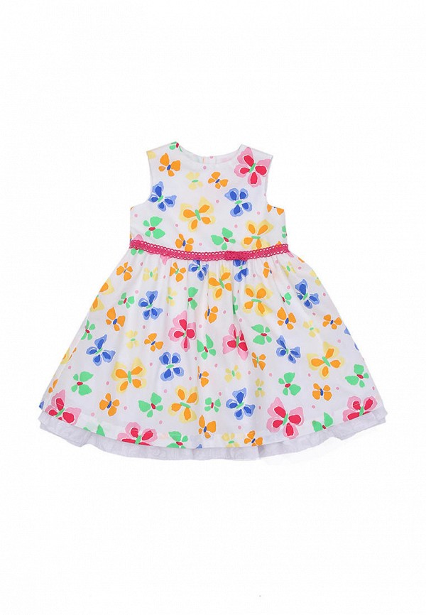 повседневные платье bigu для девочки, белое