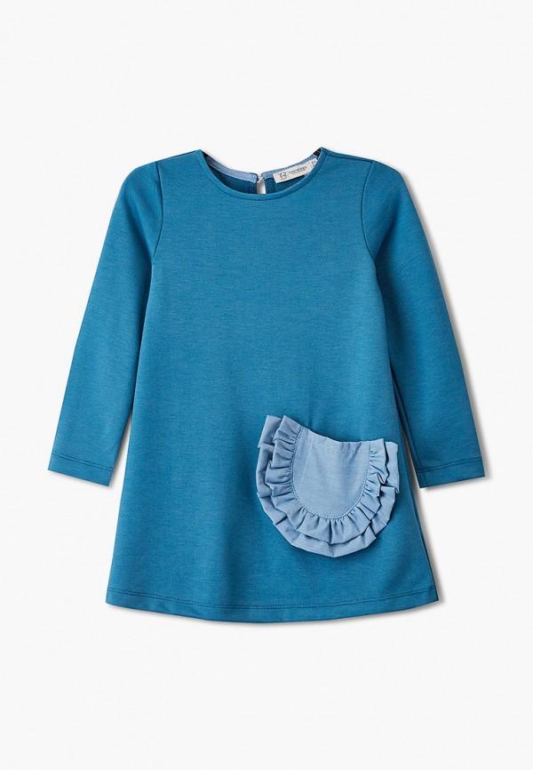 повседневные платье trenders для девочки, синее