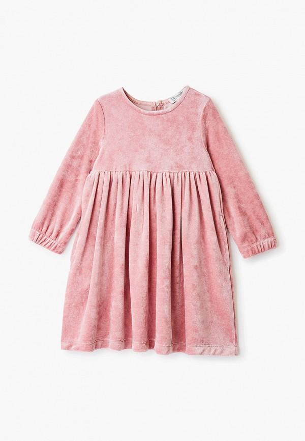 повседневные платье trenders для девочки, розовое