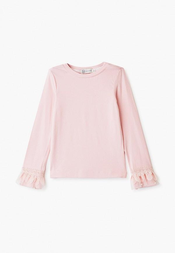 блузка trenders для девочки, розовая