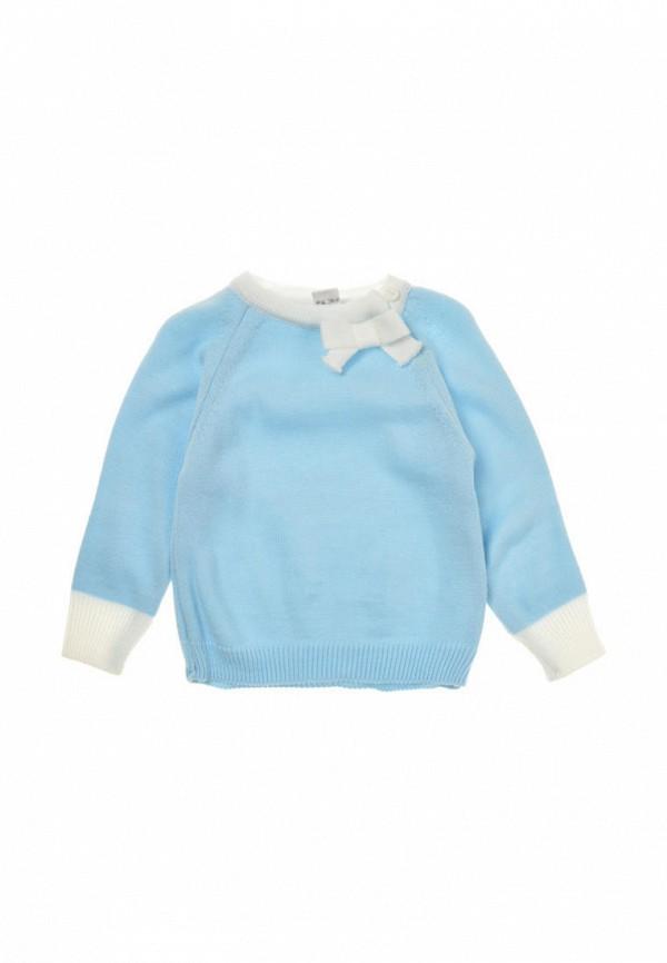 джемпер фламинго текстиль для девочки, голубой