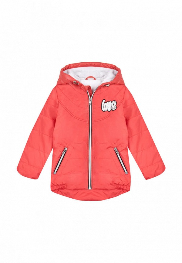 куртка бемби для девочки, красная