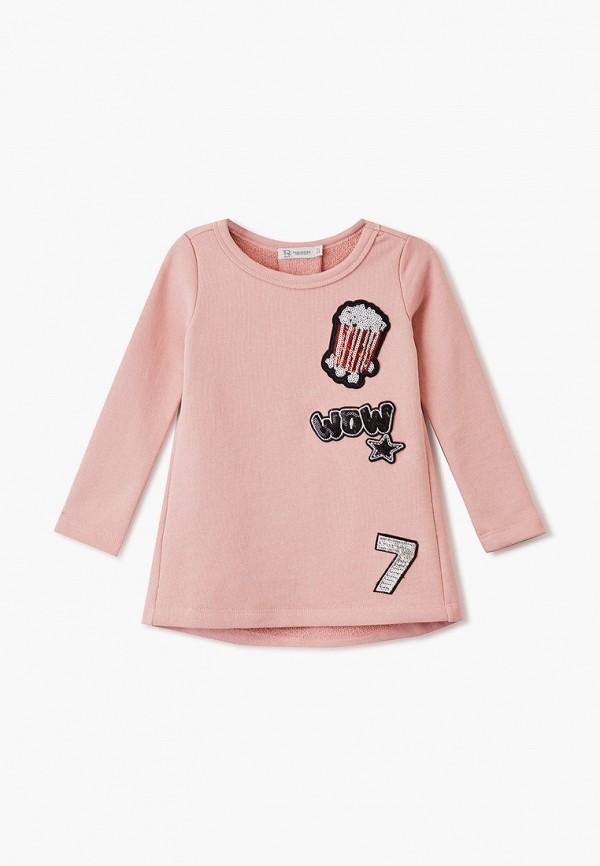 туника trenders для девочки, розовая
