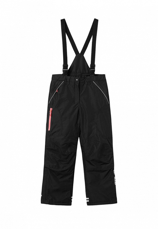 утепленные брюки coccodrillo для девочки, черные