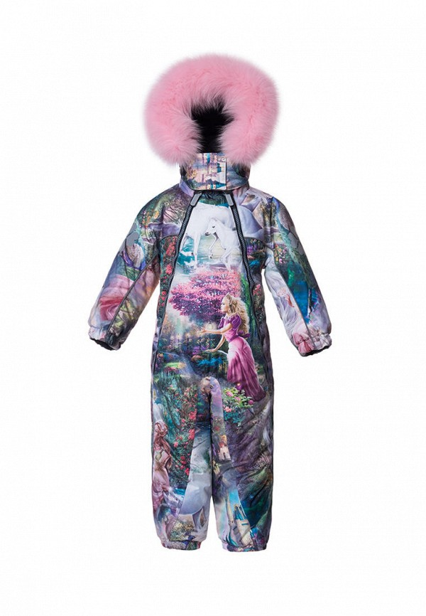 комбинезоны и костюмы stylish amadeo для девочки, разноцветные
