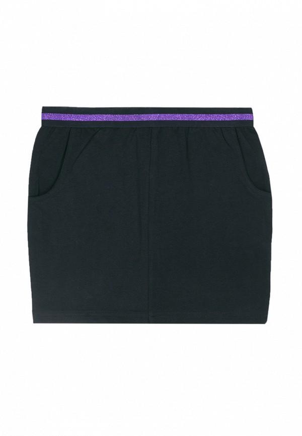 юбка coccodrillo для девочки, черная