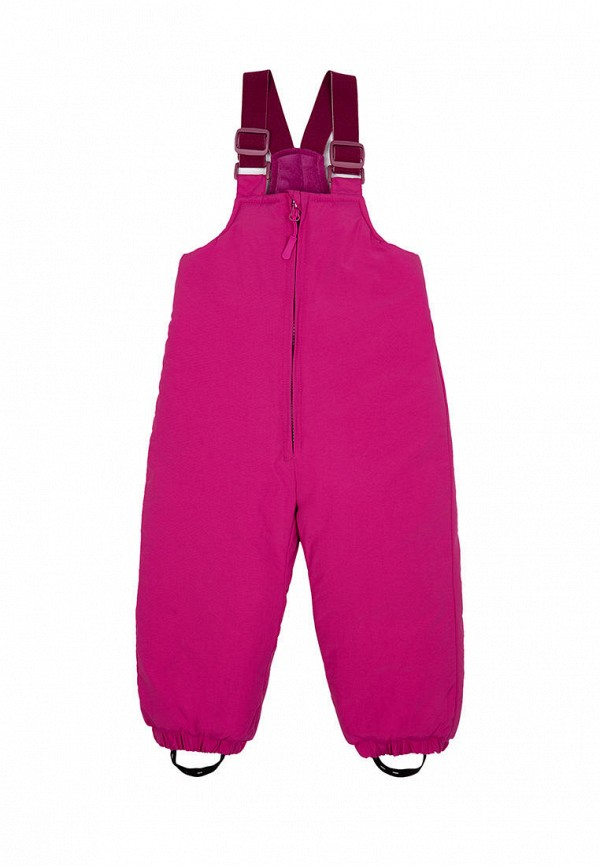 утепленные брюки playtoday для девочки, розовые
