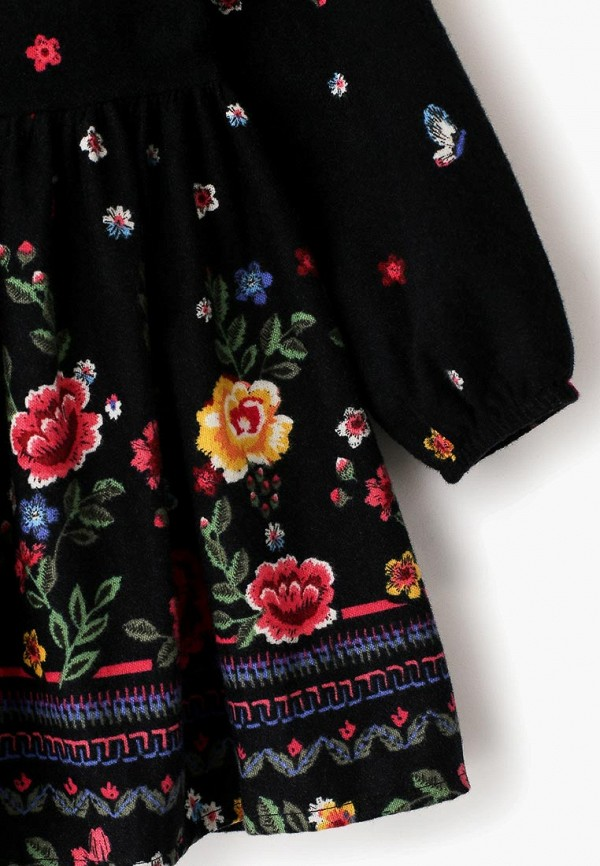Платья для девочки LC Waikiki цвет черный  Фото 3