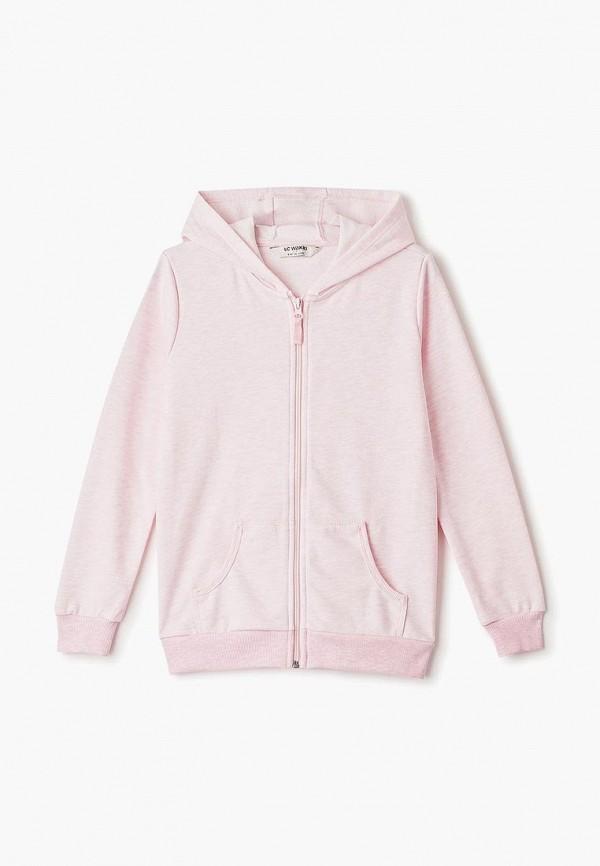 толстовка lc waikiki для девочки, розовая