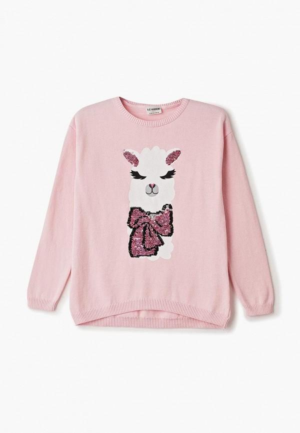 джемпер lc waikiki для девочки, розовый