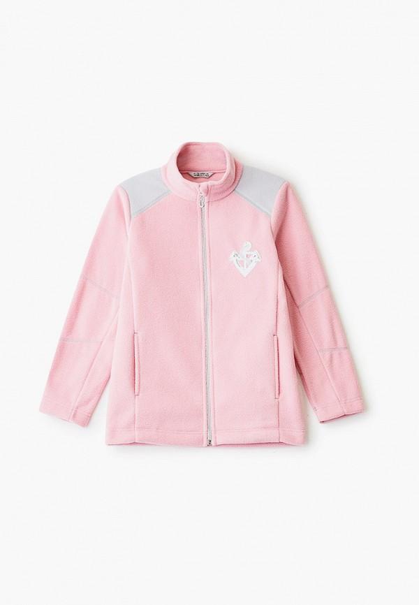 олимпийка saima для девочки, розовая